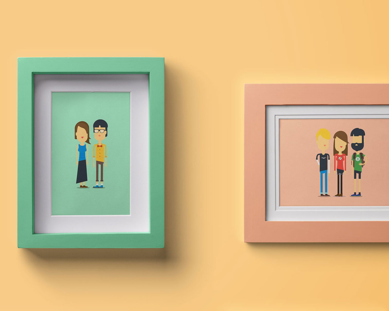 FLAT PICTURE FRAMES 1